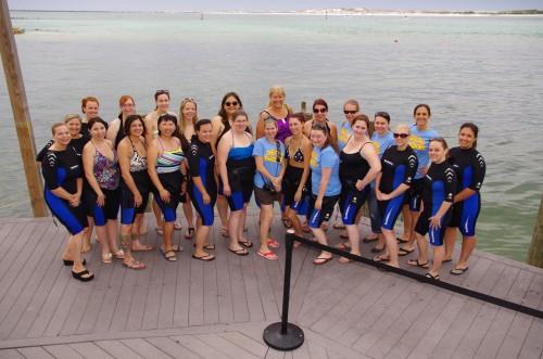 Destin Snorkel Group Pic