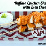 Buffalo Chicken Skewers
