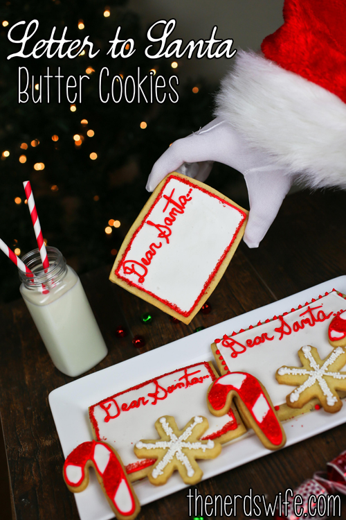 Letter to Santa Butter Cookies #HolidayButter #Shop