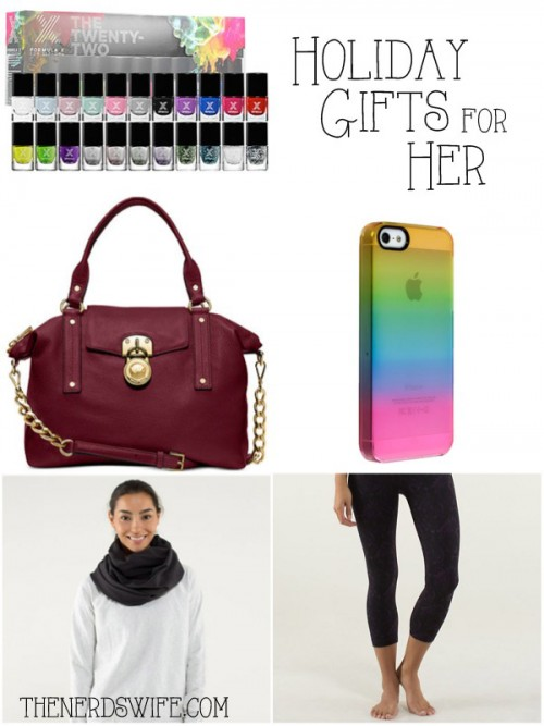 Christmas gift ideas for her the nerd 39 s wife for Christmas gift ideas for her