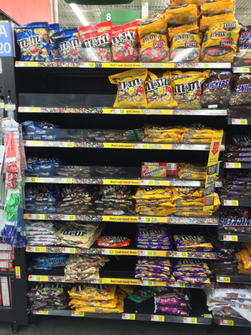 M&M Candy Aisle #BakingIdeas #shop