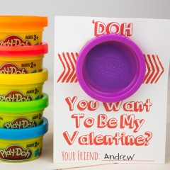Playdoh Valentines