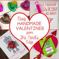 Easy Handmade Valentines Cards