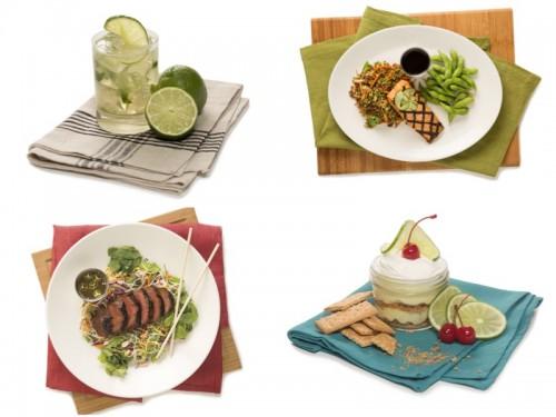 Houlihan's Food Collage