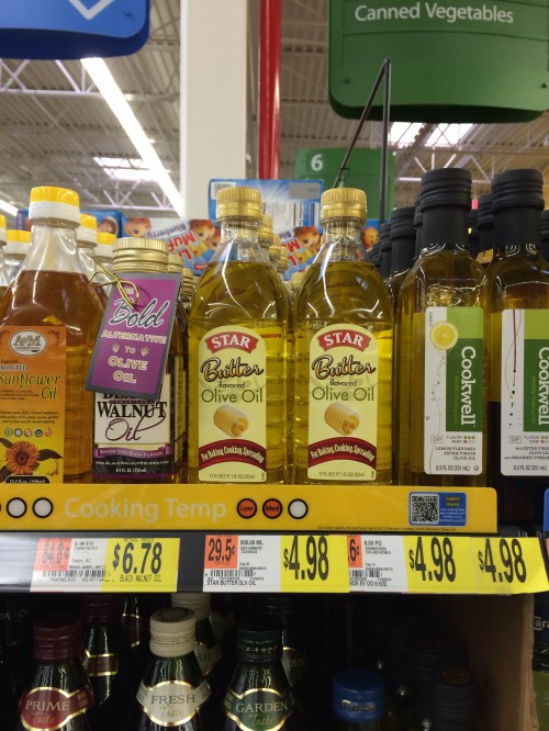 Butter Olive Oil at Walmart