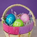 Monogram Easter Eggs small