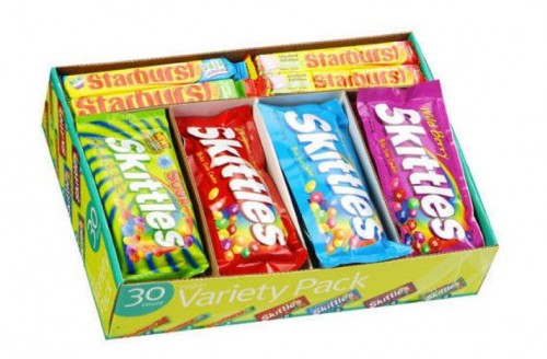 Skittles and Starburst Variety Pack