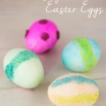 Colored Sugar Easter Eggs small