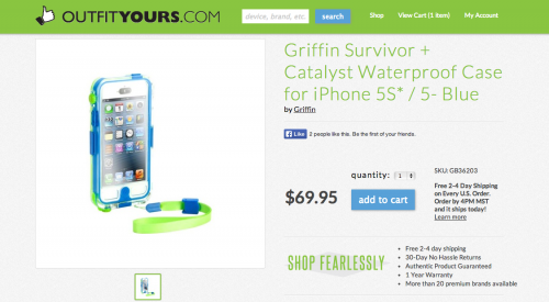 Griffin Waterproof iPhone Case