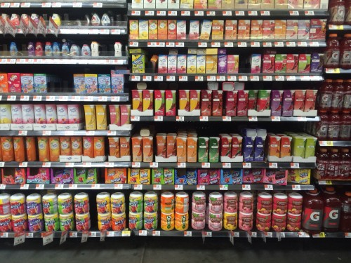 Lemonade Aisle at Walmart #Shop