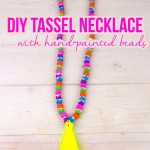 DIY Tassel Necklace Small