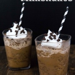 Iced Coffee Milkshakes Small
