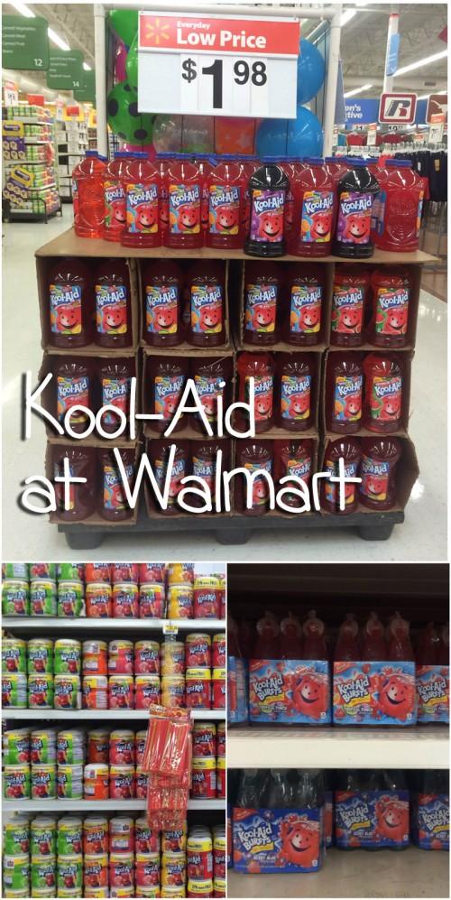 Kool Aid at Walmart