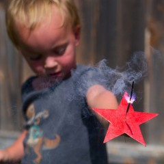 Star Sparkler Holder