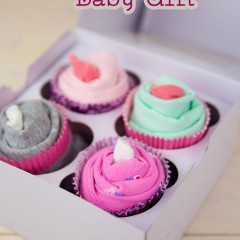 Onesie Cupcake Baby Gift Small