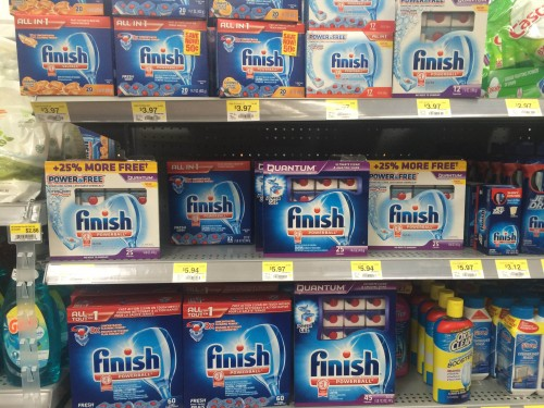 Finish Detergent at Walmart