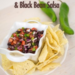 Hatch Chile and Black Bean Salsa Small
