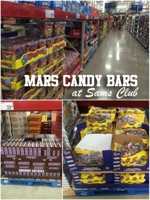 Mars Candy Bars at Sams Club