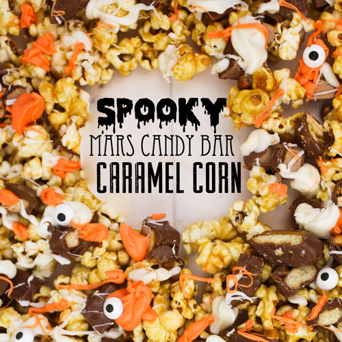 Spooky Caramel Corn