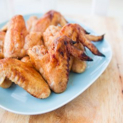 Sweet and Spicy Chicken Wings Square