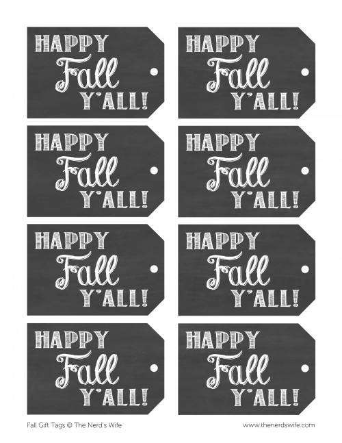 Fall Chalkboard Tags 2