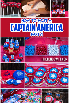 Captain America Party
