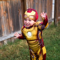 Iron Man Toddler Costume Square