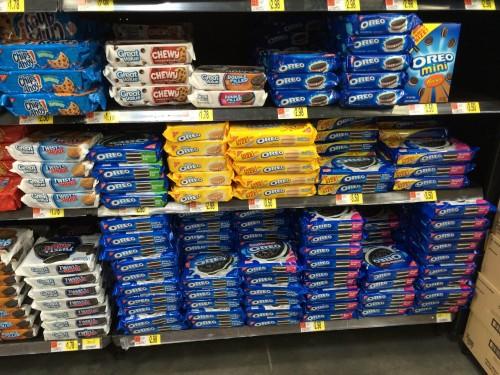 Oreos at Walmart