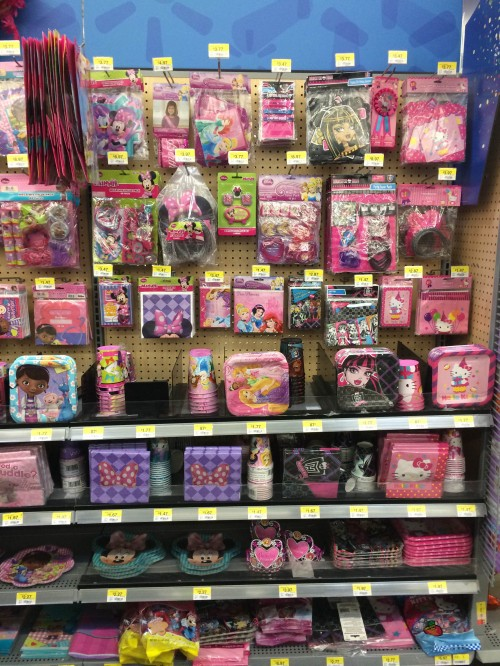 Princess Party Supplies at Walmart