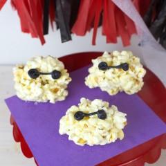 Baymax Popcorn Balls