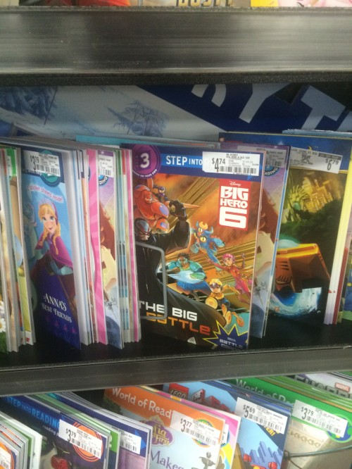 Big Hero 6 Books at Walmart