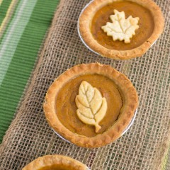 Skinny Mini Pumpkin Pies Square
