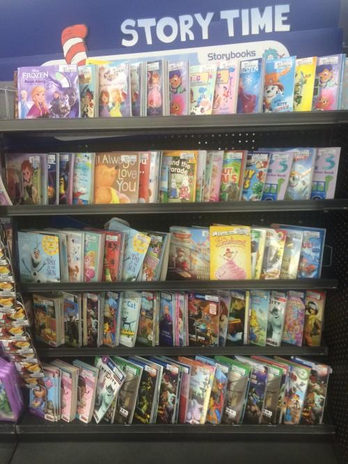 Storybooks at Walmart