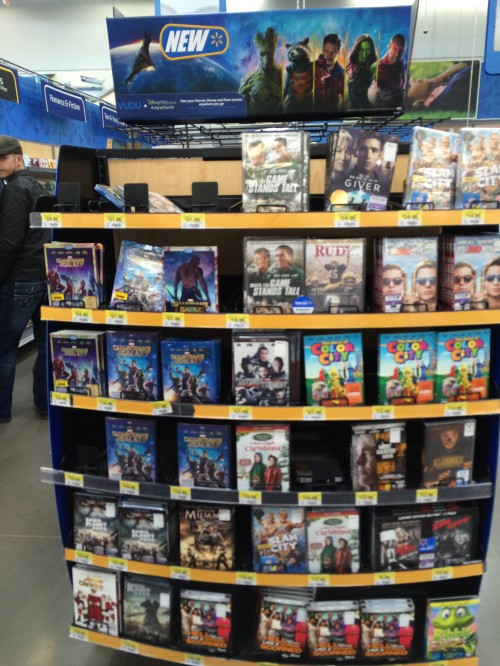 Guardians of the Galaxy DVD at Walmart