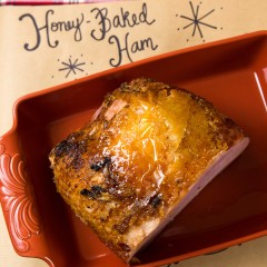 Honey Baked Christmas Dinner Square