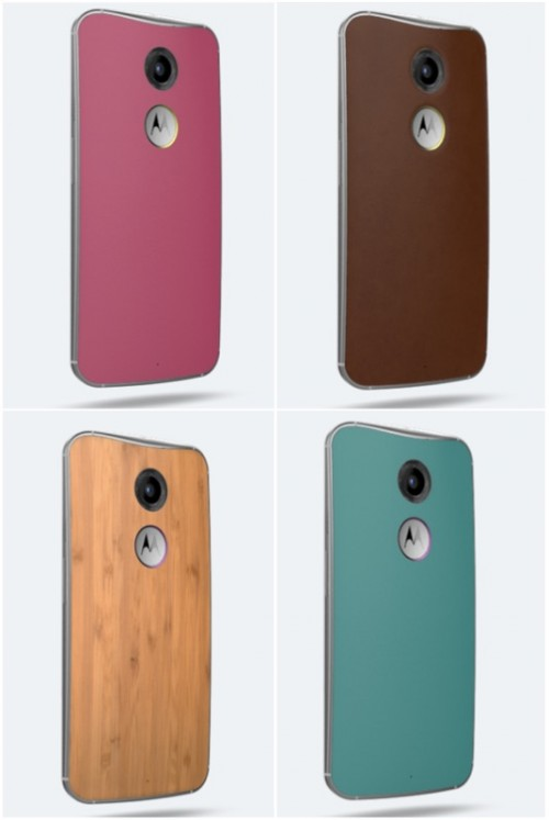 Moto X Back Finishes