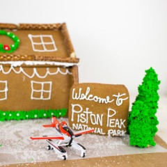 Planes Fire and Rescue Gingerbread House Square