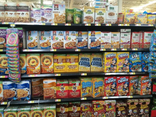 Quaker Simply Granola Cereal at Walmart