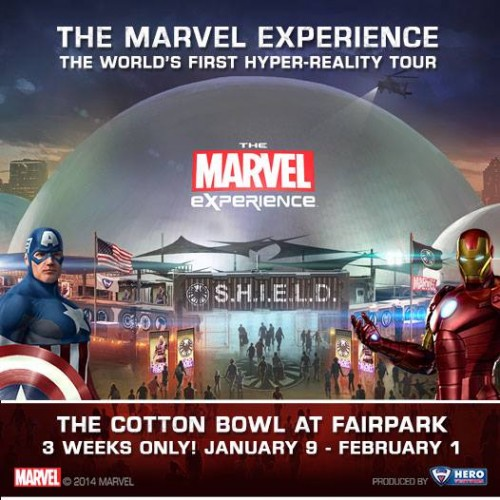 The Marvel Experience Dallas