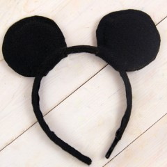 DIY Mickey Mouse Ears Square