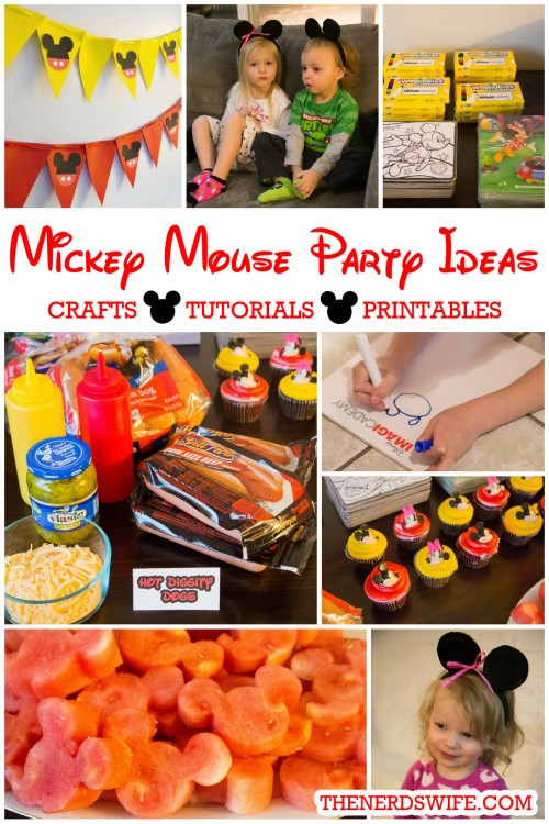 Disney Imagicademy Mickey Mouse Party Ideas