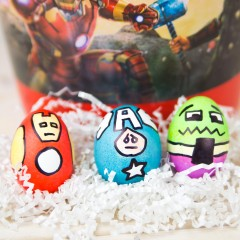 Avengers Easter Eggs Square