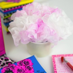 Betsey Johnson Kleenex Bouquet Square