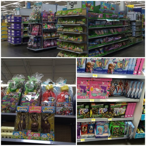Disney Easter at Walmart