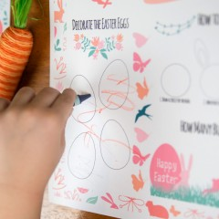 Easter Activity Placemats Square