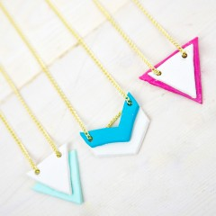 Stylish Diffuser Necklaces Square