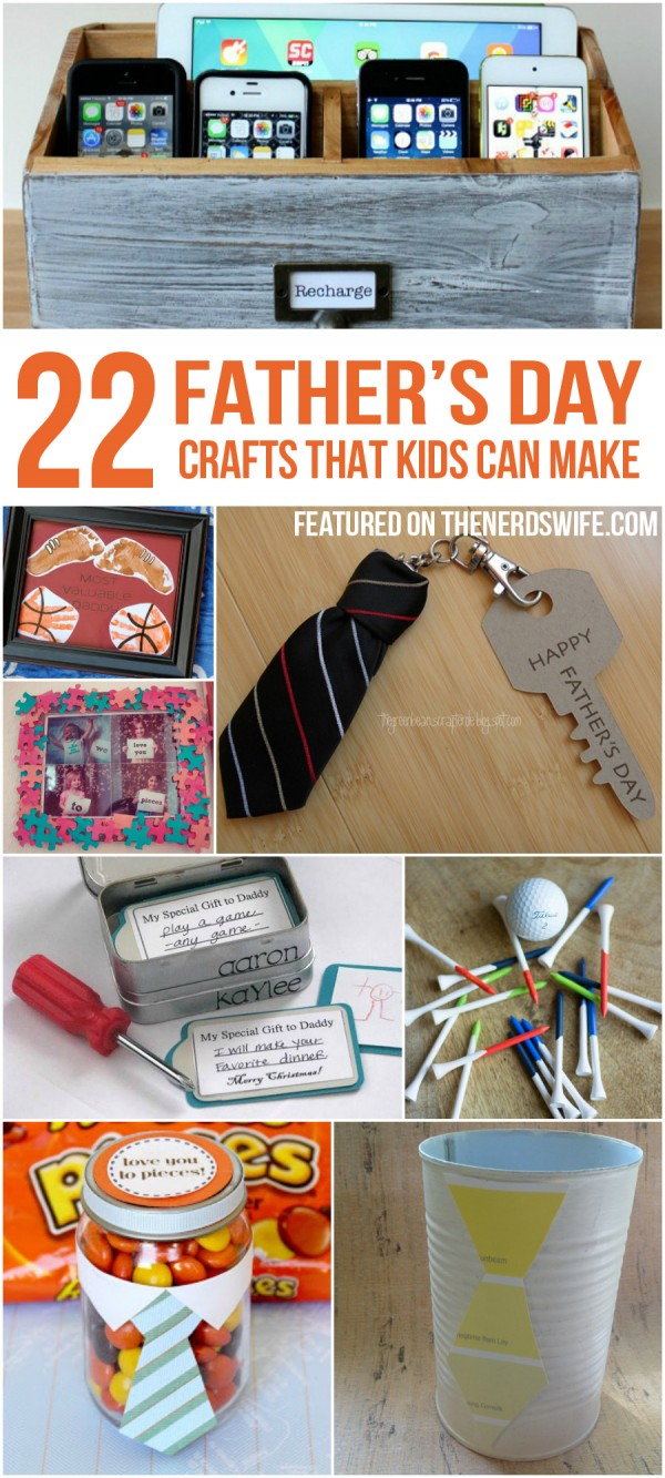 22 Father's Day Crafts