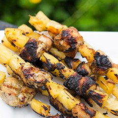 Caribbean Chicken Skewers Square