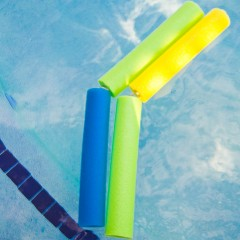 Pool Noodle Nunchucks Square