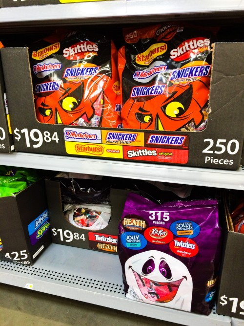 Hershey's Candy Bags at Walmart